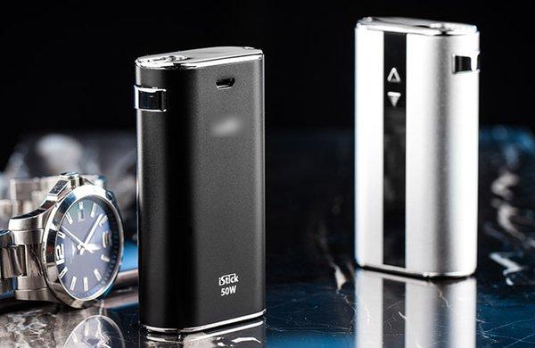 Eleaf iStick 50W con schermo OLED meccanico MOD Batteria Ismoka iStick 50W 4400mah VV VW Mod Ecigarette Batteria