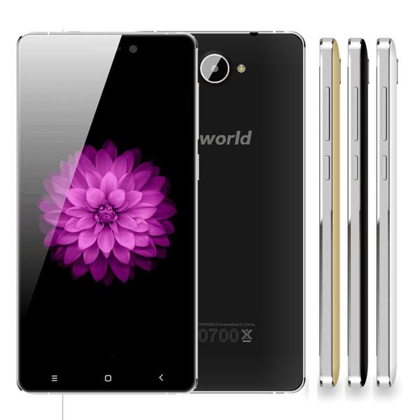 Original Vkworld VK700X teléfono móvil de 5.0 pulgadas MTK6580A Quad Core RAM 1G 8G ROM HD 1280x720 Android 8MP cámara 3G WCDMA teléfono celular 5.1