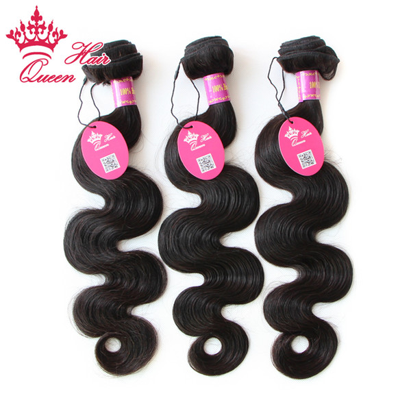 Queen Hair 6A Grade 100% UNPROCESSED Brazilian Virgin BEST TOP Quality Hair Weave Body Wave DHL Free Shipping BH603