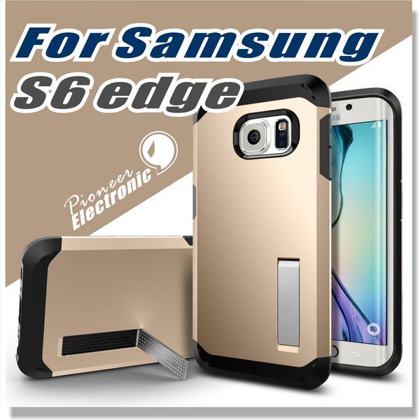 Für Galaxy S7 S7 EDGE S6 S6 Rand Fall, Tough-Rüstungs-Kasten für Samsung Galaxy Note 4 5 Abdeckungs-Fall [EXTREME PROTECTION] - ohne Verpackung