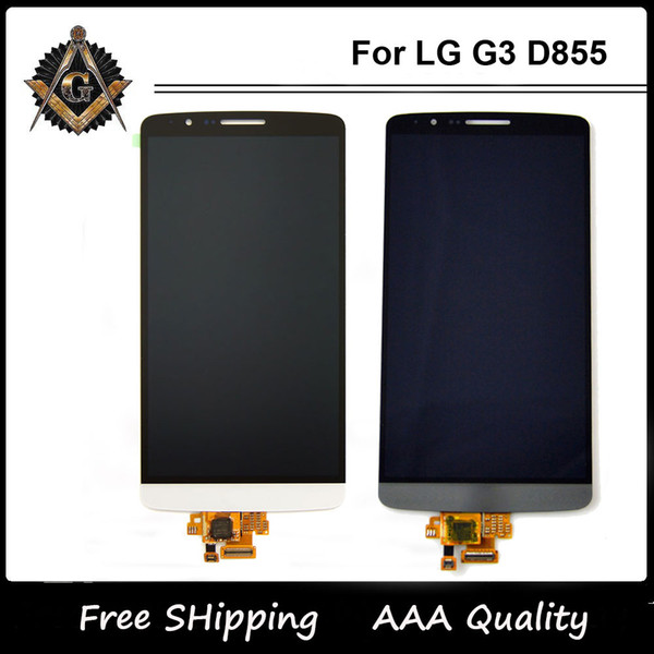 Per LG Optimus G3 D850 D851 D855 display Vs985 LS990 LCD + Digitizer Assemblea di schermo a cristalli liquidi D855 originale di trasporto
