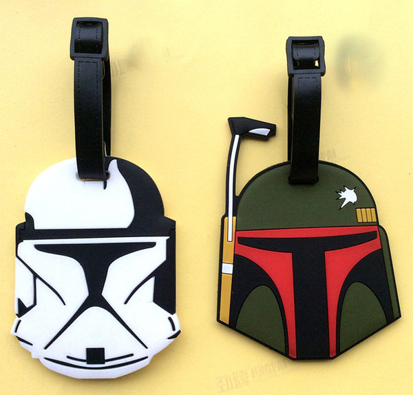 laurent bags - 2016 12 Designs Luggage Tags Star Wars Darth Vader Travel Silicone ...