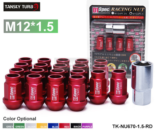 PURPLE JDM WHEEL LUG NUT FOR HONDA ACURA INTEGRA M12X1.5MM 20PCS L:50MM