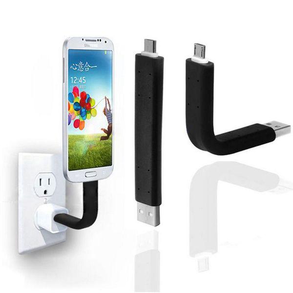 Esnek Mikro USB Sync Veri Şarj Cihazı Kablo