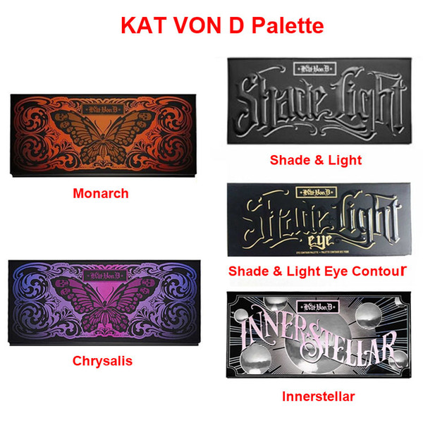 HOT New MIX Kat Von D Chrysalis / Innerstellar / Schatten-Licht / Monarch / Monarch / SCHIRM LIGHT CONTOUR PALETTE