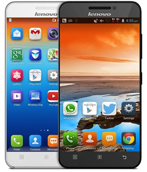 Originale telefono cellulare Lenovo A3600D A3600 4G LTE FDD MTK6582 Quad Core 512M di RAM 4G ROM 5MP 4G 3G 2G Android 4.4