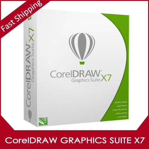 Графический пакет CorelDRAW х7 лицензия на программное обеспечение для Win 32/64бит Поддержка Мульти-Язык