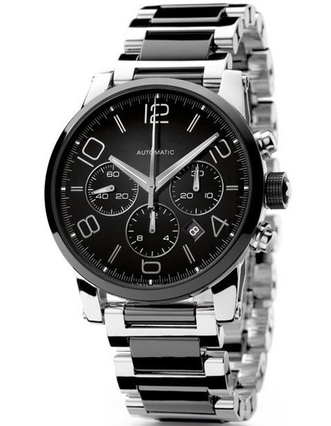 Fashion Mens luxury steel watches automatic watch wristwatch for MBL05 (ikwatches) Garland Buy stuff