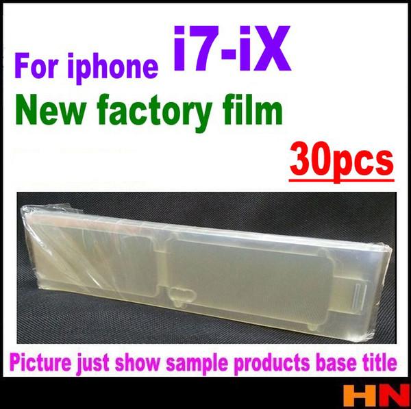 Для iphone X 8 7 плюс новый передний защитная пленка завод пленка протектор экрана гва
