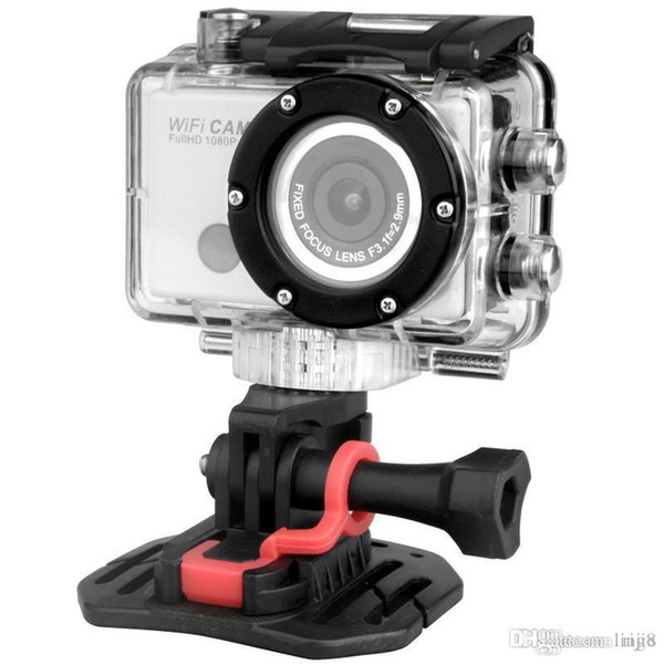 2015 New real câmeras HD 1080p Full Digital Sports Go Pro Hero 3 Camera Estilo com Wifi G386 Controle Y Telefone Tablet PC 60 metros à prova d'água