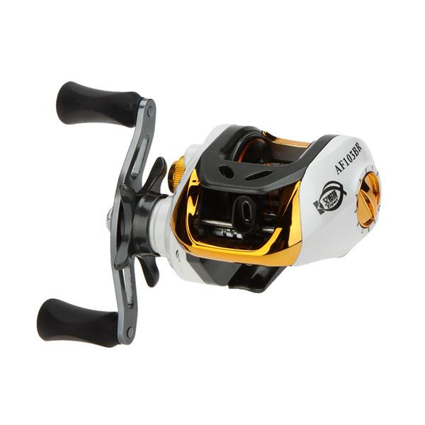 12 + 1 подшипник правой / левой руки Мультипликаторы Fly Fishing Reel Высокоскоростной Рыболовная катушка с магнитной тормозной системы Y0509