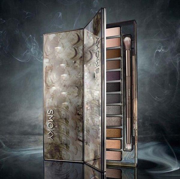 MOQ: 1 neueste Ankunfts-Make-up Lidschatten 12 Farben Lidschatten-Palette NUDE Smoky frei Versandbox