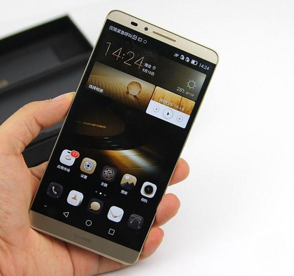 huawei prezzo telefono 1: 1 originale Huawei Mate 7 32GB / 16G telefono ROM Oro 5.5