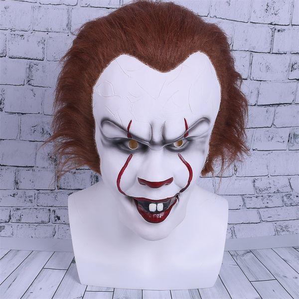 2017 фильм Стивен Кинг это косплей Маска Пенни мудрый клоун шлем Хэллоуин и Рождест