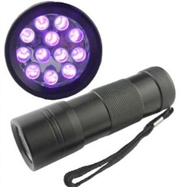 Бесплатный DHL, 395-400 Нм ультрафиолетовый ультрафиолетовый свет мини портативный 12 фото