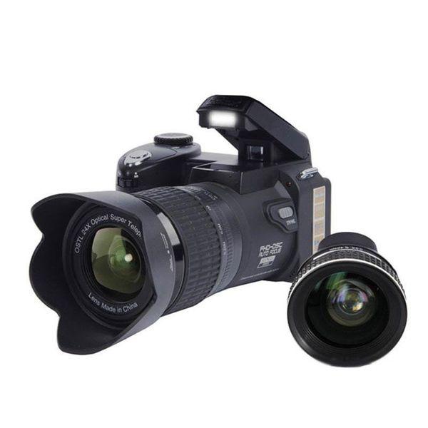 D7100 33mp fhd d lr half profe ional digital camera 24x telephoto wide angle len et 8x digital zoom camera focu