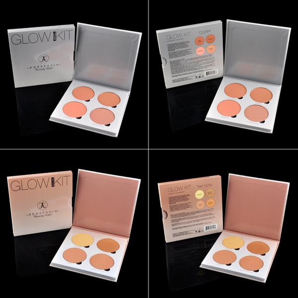 Anastasia Beverly Hills Brilho Kit de maquiagem Rosto Blush em Pó Blush Palette Cosméticos Blushes Marca Anastasia Face Powder (2802018)