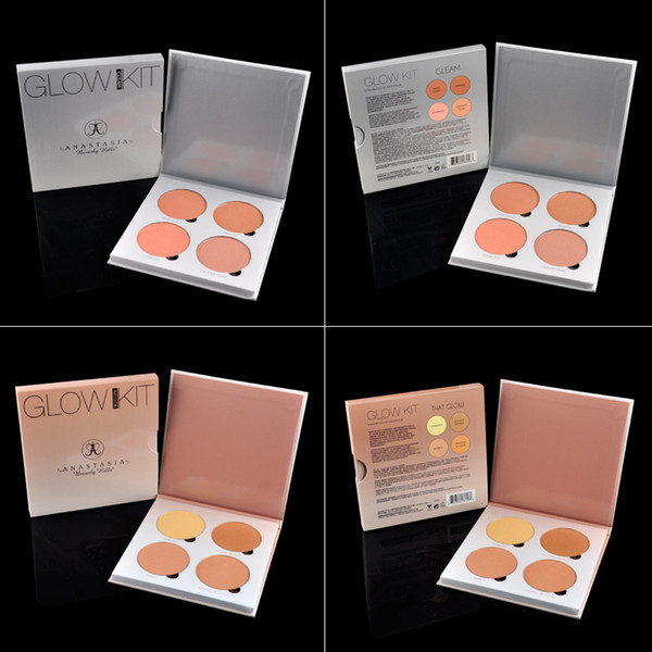 Anastasia Beverly Hills Glow Kit Maquillage de visage Blush Poudre Blush Palette cosmétiques Blushes Marque Anastasia Face Powder (2802018)