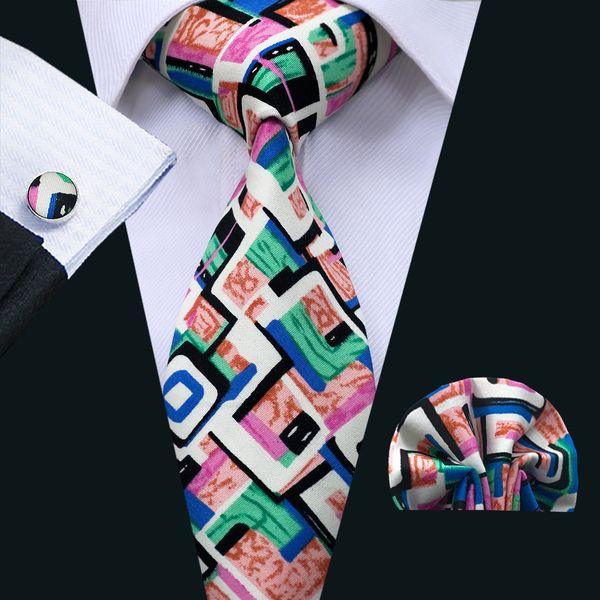 Новинка галстук наборы галстуки для мужчин классический хлопок галстук галстук H фото