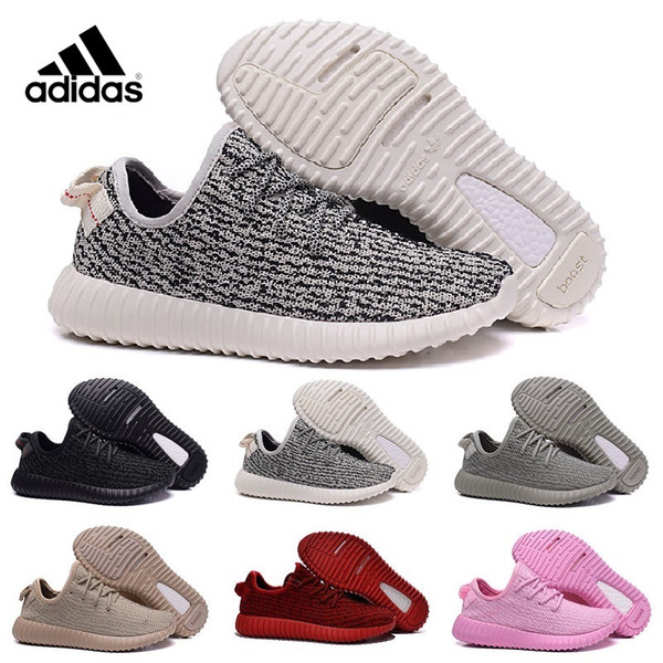 Adidas Оригинал Kanye West Yeezy увеличить 350 2016 Moonrock Kanye обувь пират Черный Yeezy 350 Повышение горлица серый Yeezy свободный корабль с коробкой