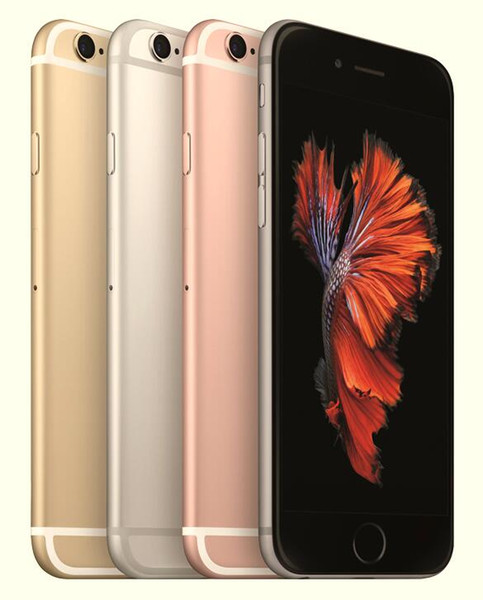 100% Original Apple iPhone 6S With Touch ID Dual Core 16GB/64GB/128GB IOS 11 4.7 Inch 12MP Refurbished Phone