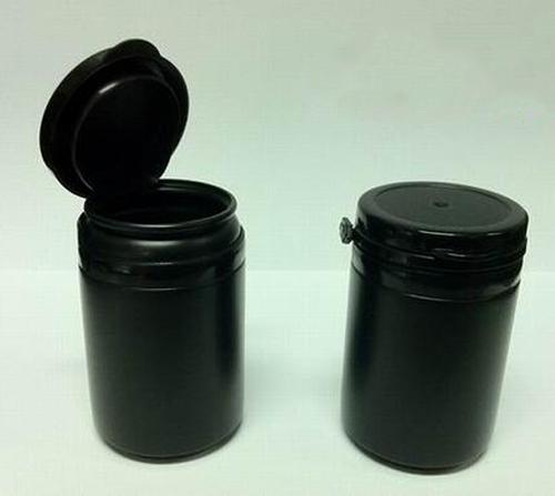 30 шт./лот бесплатная доставка PE пластиковые черные бутылки пластиковые небольшой фото