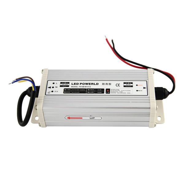 Sanpu mp led driver 12v 100w 8a con tant voltage witching power upply 110v 220v ac dc lighting tran former rainproof ip63 outdoor u e