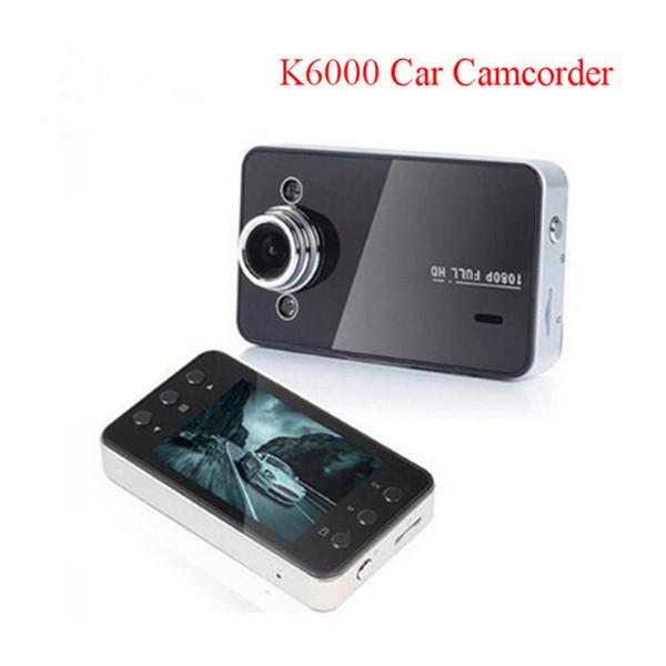 Экземпляры K6000 автомобильный видеорегистратор 1080p 2,4-дюймовый полный HD ночного видения рекордер приборной панели камеры автомобильный видеорегистратор CARCAM видео регистратор автомобильный видеорегистратор K6000 фото
