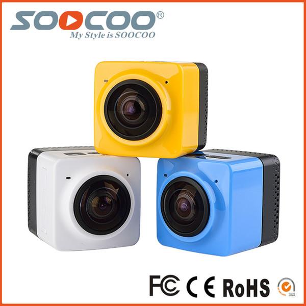 CUBE all'ingrosso 360 di azione di mini sport 720P 360 gradi fotocamera panoramica VR Costruire-in WiFi (5pcs / pacchetto)