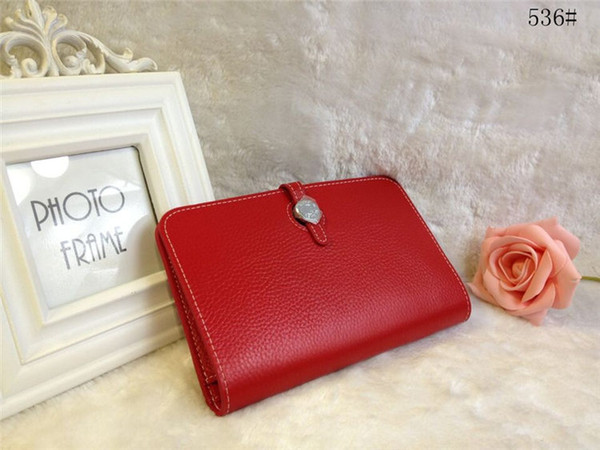 genuine leather wallet women wallets purses and handbags 536 (401837891) photo