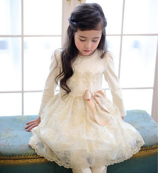 2016 New Princess Cute Petals Flower Girl&39S Dresses Back With ...