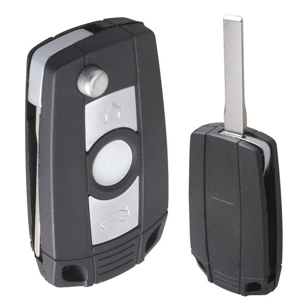 Черный 3 кнопки ремонт ключа дистанционного брелок Shell Case нет чип с режиссерский а