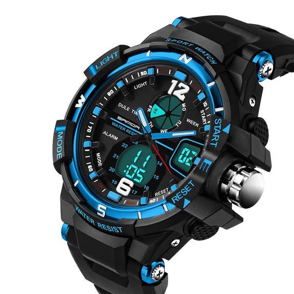 Männer G-Stil Wasserdicht Sport-Militär-Uhren