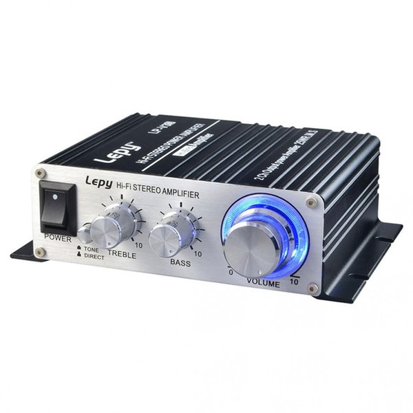 Dhl 10pc car lepy lp v3 amplifier hi fi digital v3 u b fm tereo uper ba audio power amplifier car 2 channel amplifier