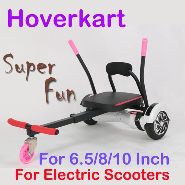 Hoverkart Go-kart Karting For Electric Scooters 6.5 8 10 Inch smart balancing electric smart balance hoverboard Gokart kart HoverSeat