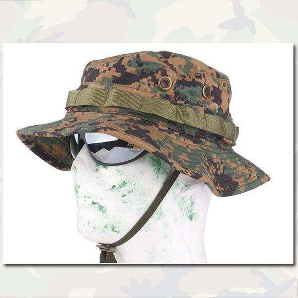 Эмерсон Boonie Hat Военные армии Анти-царапать Сетка Ткань камуфляж Sandstorm EM8740