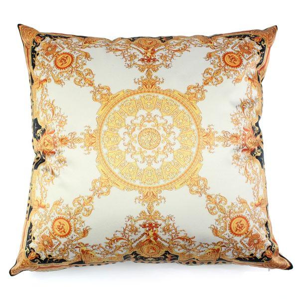 Luxury ilk material catter cu hion cover pillowca e cojin home decorative 18 inche oft quare pillow ca e for eat car ofa
