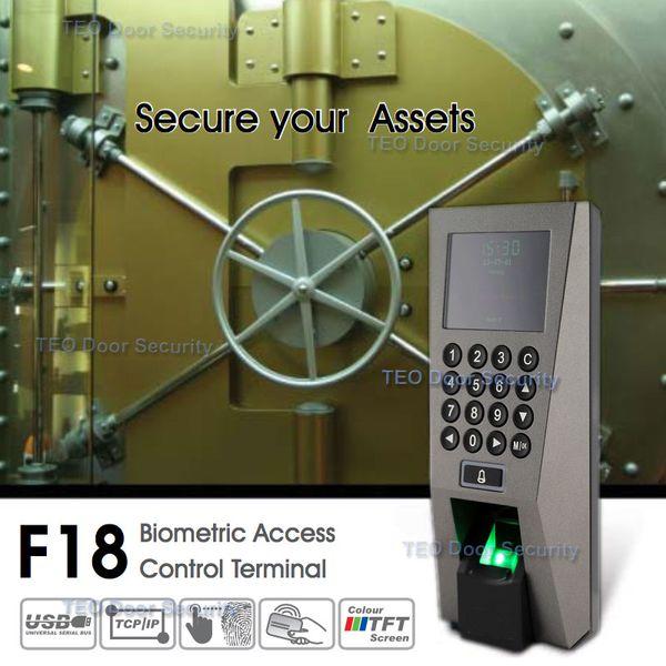 ZKTeco F18 Система контроля доступа и контроля времени ZKAccess3.5 Система безопасности USB-