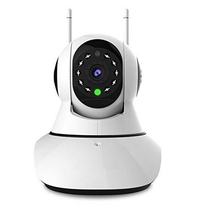 Jovision 720P IP Camera Dual-Antenna,WiFi Network Security Video Monitor, Supports Pan & Tilt Rotate, Night Vision , Motion Detection Alarm
