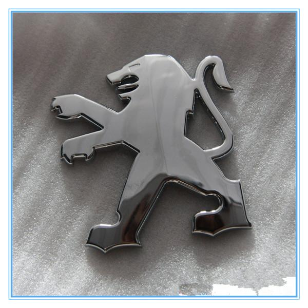 Пежо 206 О стандартный логотип хвост стандартный задний знак логотип Пежо логотип сзади эмблема задний знак фото