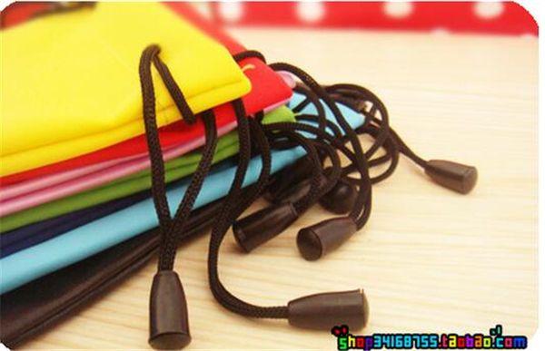 Waterproof leather pla tic  ungla  e  pouch  oft eyegla  e  bag gla  e  ca e many color  mixed 17 9cm d652