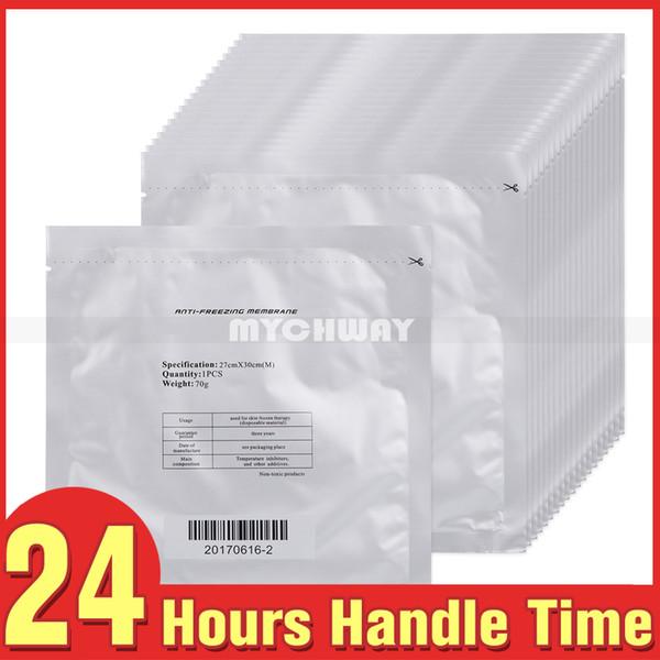 Anti freezing membrane for fat freezing machine 50pc lot antifreeze membrane fa t 0 07g bag 30 27cm cooling therapy pad