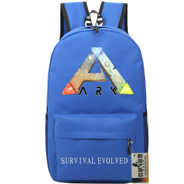 Steam ARK backpack survival evolved school bag Game daypack Quality schoolbag Outdoor rucksack Sport day pack