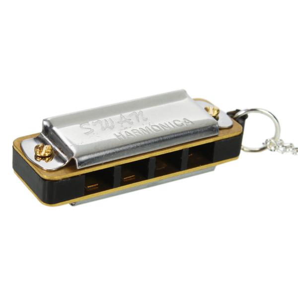 10pc  lot  wan mini necklace de ign harmonica 4 hole 8 tone for children kid  multicolor mu ical mu ic gift
