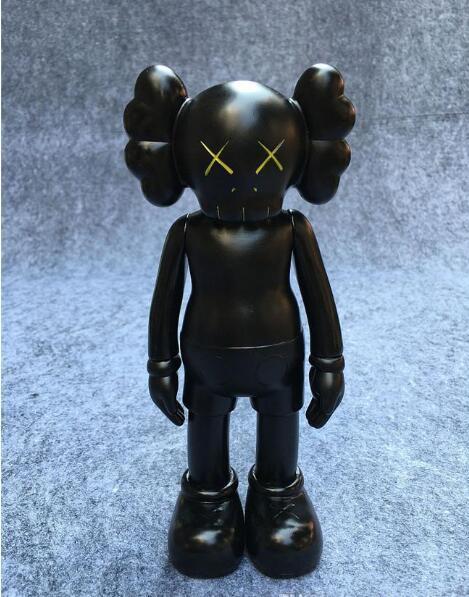 2018 горячие продажи Kaws оригинальный поддельные фигурку коллекция кукла рождественские подарки дни рождения игрушки мрачный медведь MoMo медведь ПОПОБЕ Qee Bearbrick
