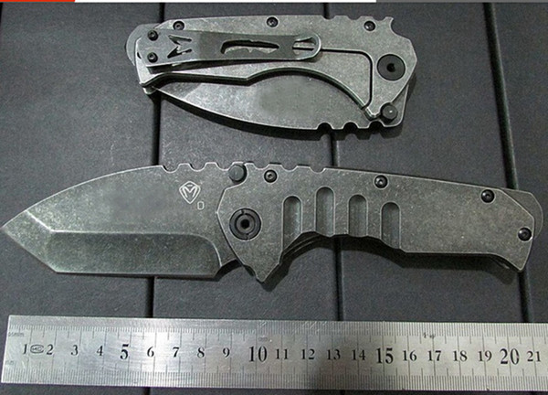 High quality!Top Medford Praetorian Stonewashed Process Folding Blade Knife Hunting Tactical Knives Climbing Tools Outdoor Survival Knife.