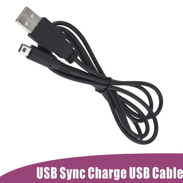 U b power charger cable cord lead for nintendo 3d d i d i xl 2 in 1 u b ync 1 2m dhl fedex fa t hipment