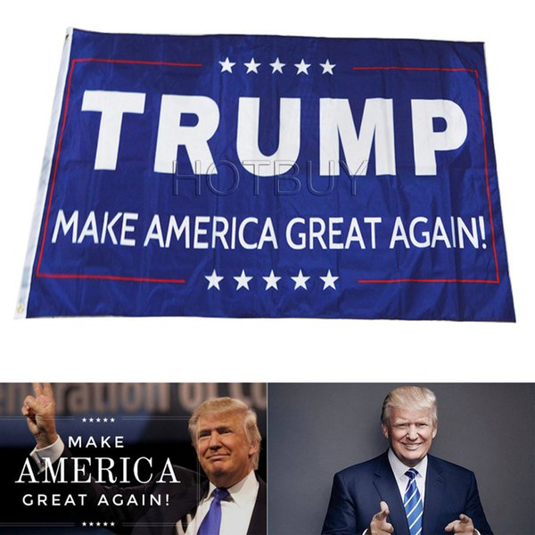 Флаг Донато Трампа Сделай Америку Великой Снова Флаг Баннер Полиэстер Флаг Метал фото