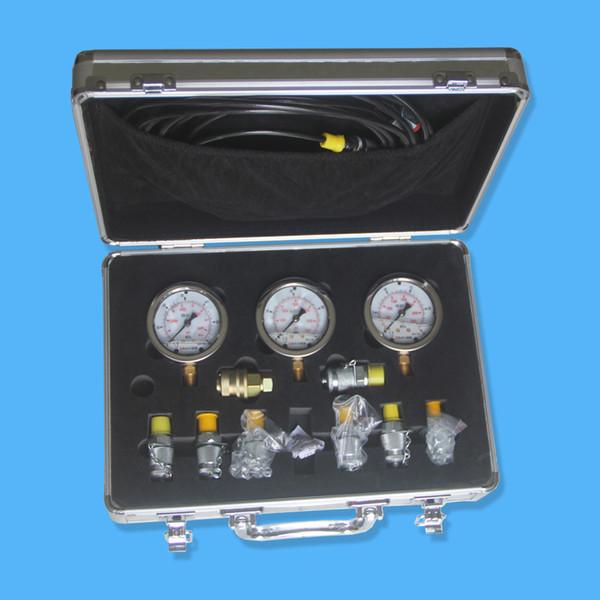 3 pc of hydraulic oil pre ure gauge oil filled pre ure meter 0 600kg 0 8700p i u ed for heavy equipment