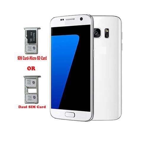 scatola sigillata 5,1 inch 1: 1 S7 SM-G930 cellulare Android 6.0 MTK6580 Quad Core 512M / 4G (in grado di dimostrare 3G / 64G) mostrare falso wifi 4G LTE GPS
